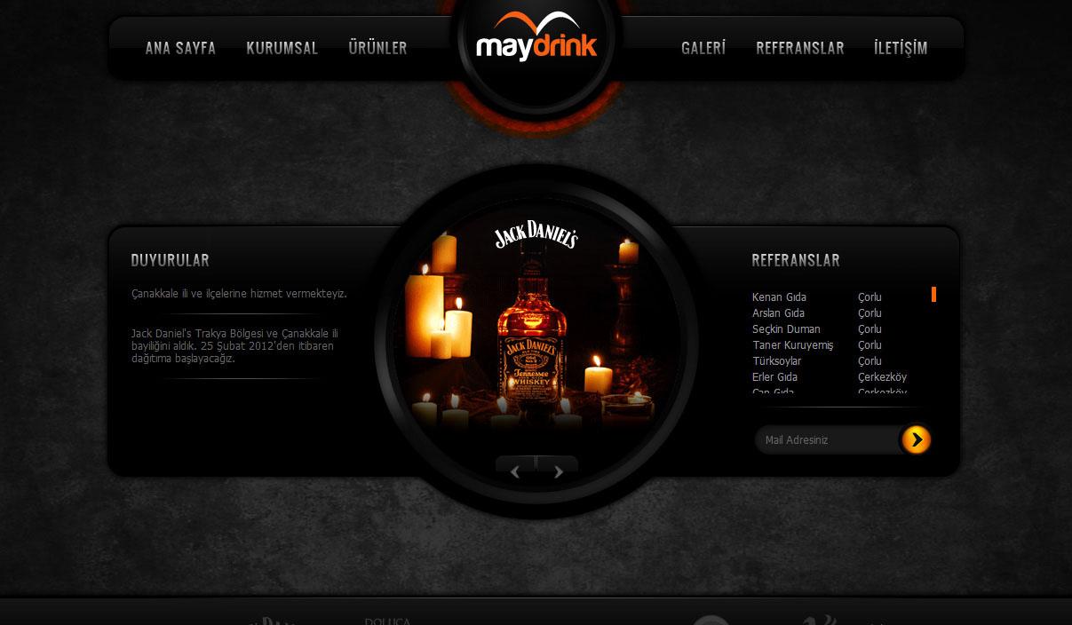 Maydrink葡萄酒网站
