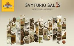 Svyturys啤酒网站