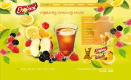 艾克拉諾帶水果味的茶