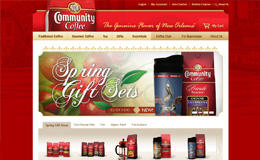 社區咖啡,美味的咖啡,茶和禮品