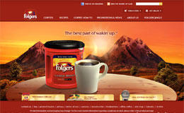 Folgers咖啡网站