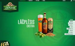 Lacplesisalus啤酒网站