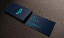 普拉提铝箔冲压名片设计欣赏
