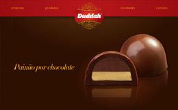 Trufas Duddah巧克力網站