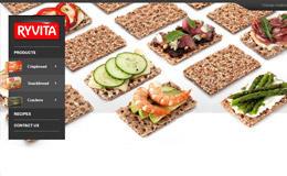 Ryvita食品网站