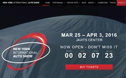 纽约国际车展网站