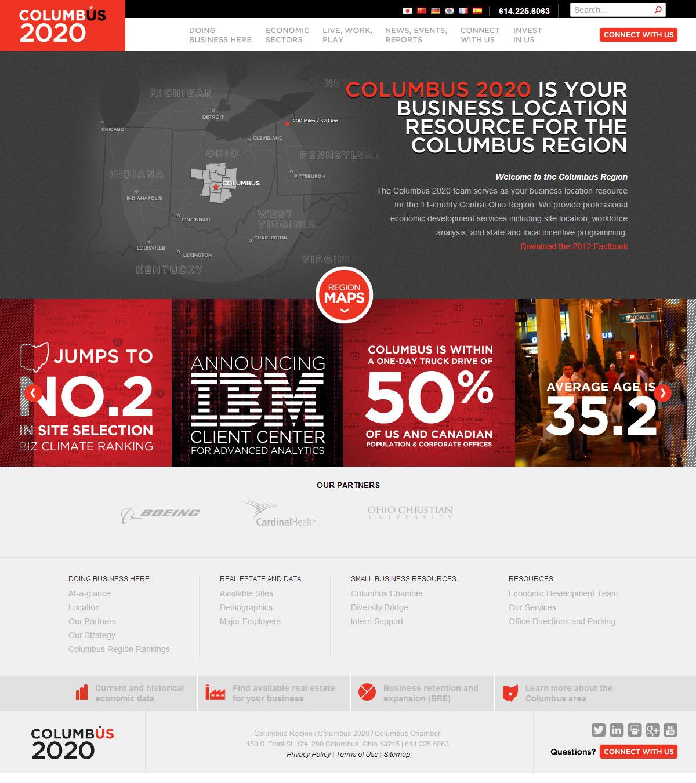 哥伦布公司网站