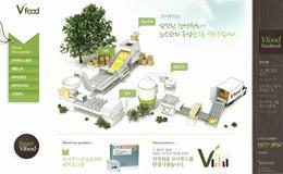 vfood韩国食品公司网站