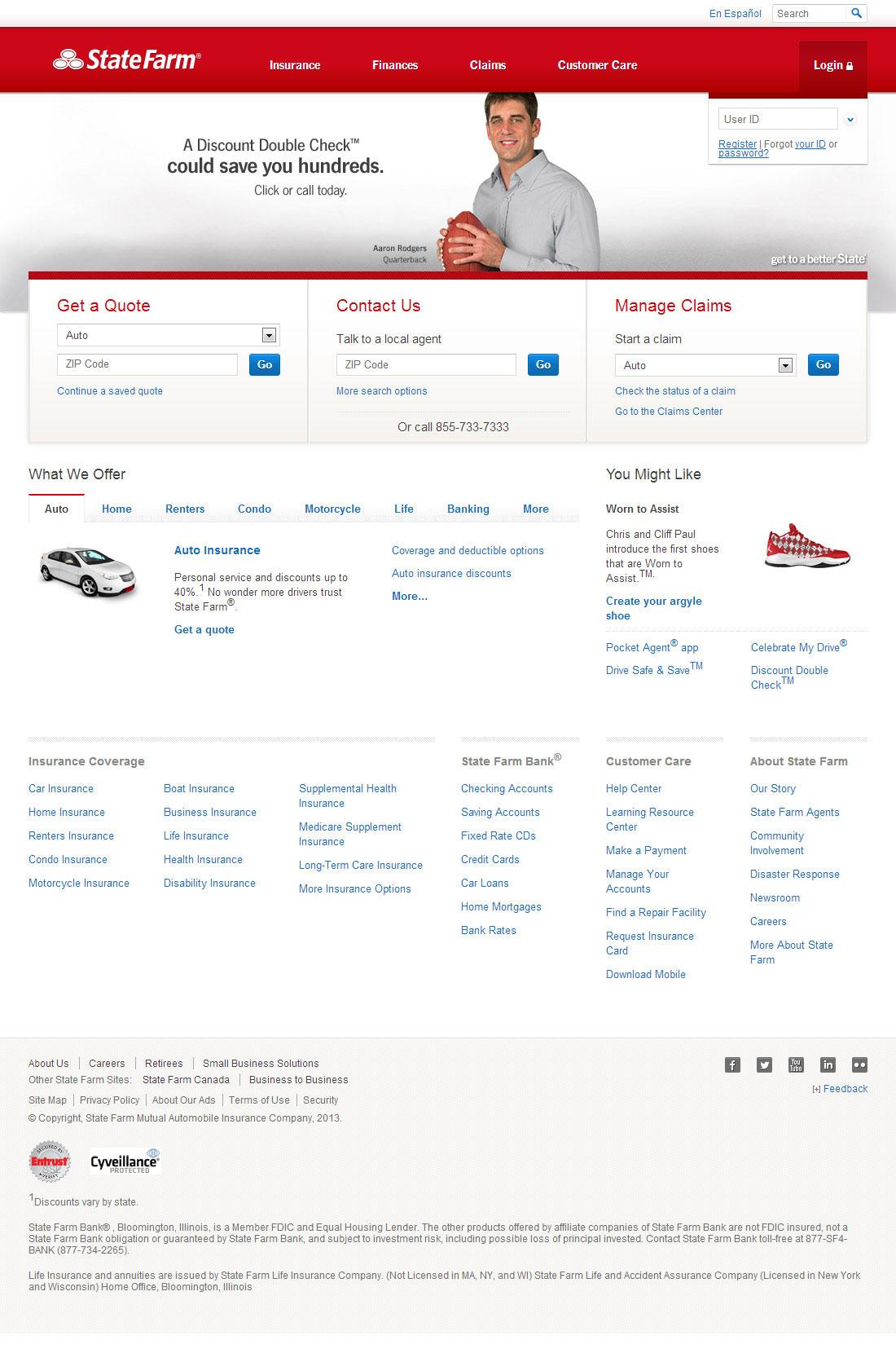 State Farm保险官方网站
