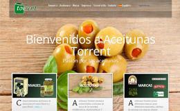 Aceitunas Torrent食品銷售企業網站