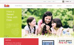 Dole韓國企業網站