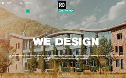 RD Construction 建筑企业网站