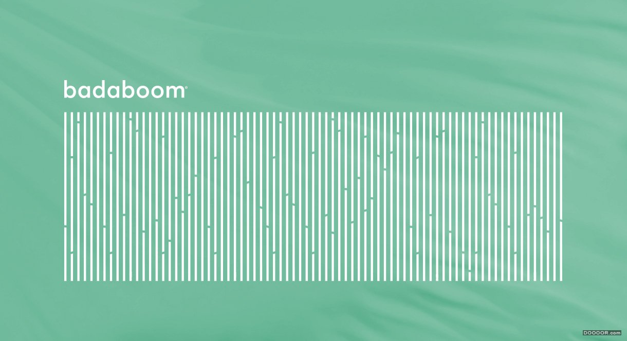挪威BADABOOM竹制纺织品视觉形象和概念