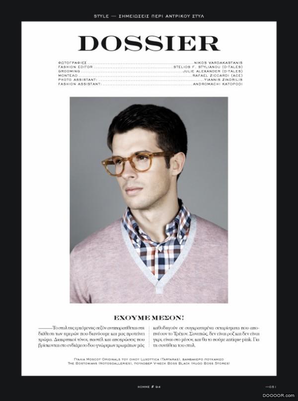 Homme国外杂志排版设计