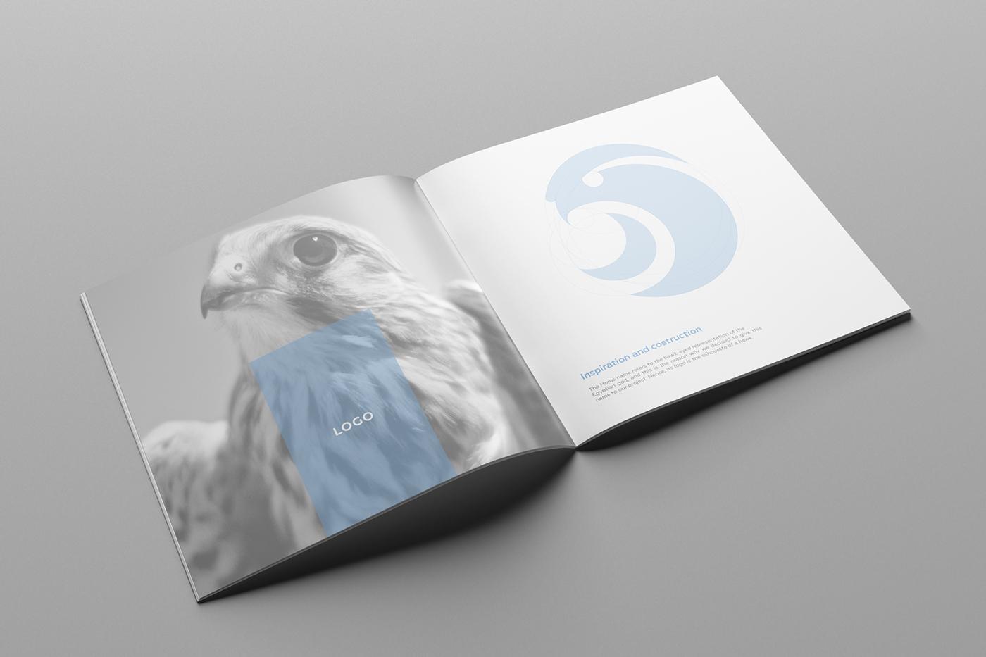 HORUS埃及神鹰盲人视障品牌与画册设计-Martina Cavalieri