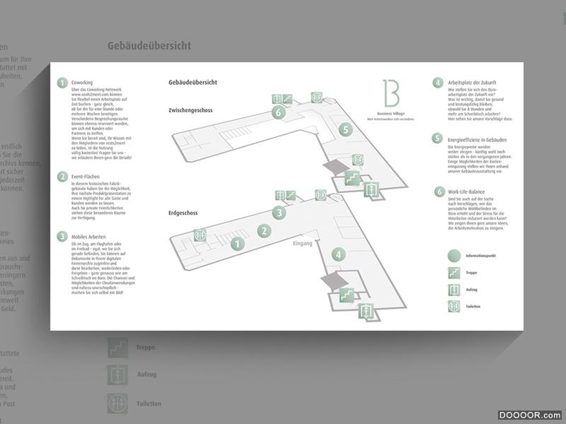 Business Village标志品牌网站布局设计-Karsten Tessmann