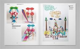 轻色块布局的智慧 国外画册设计欣赏