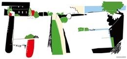 日本儿童画风格插画大师杂志封面画册海报设计
