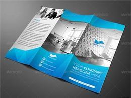 31套RAHMAN平面必备三折页设计大全适合各行业配色 6/8
