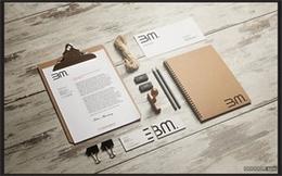 3M精细大气国外文具品牌设计怀旧木纹