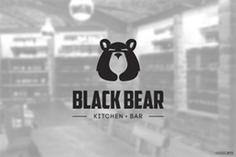 BLACK BEAR黑熊餐厅厨房品牌设计