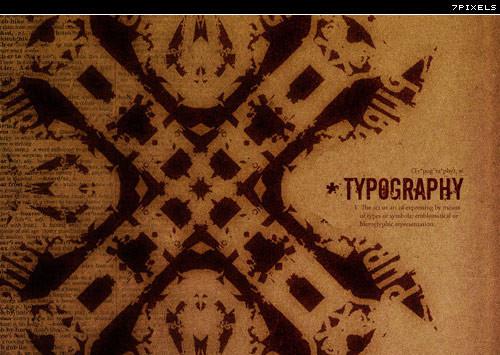 精华国外大师炫彩英文字体设计欣赏27P(二)