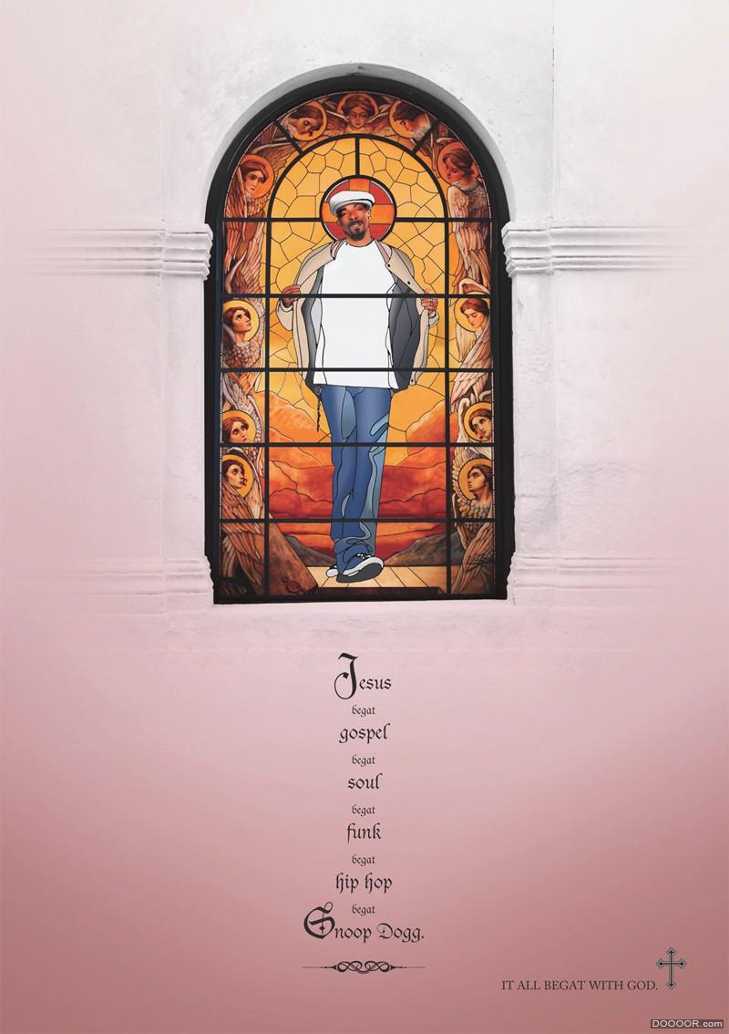 驚鴻一瞥 國外創意海報設計欣賞[高清] 16/29