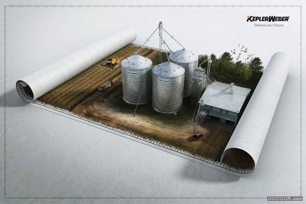8月国外精彩创意广告设计欣赏 A