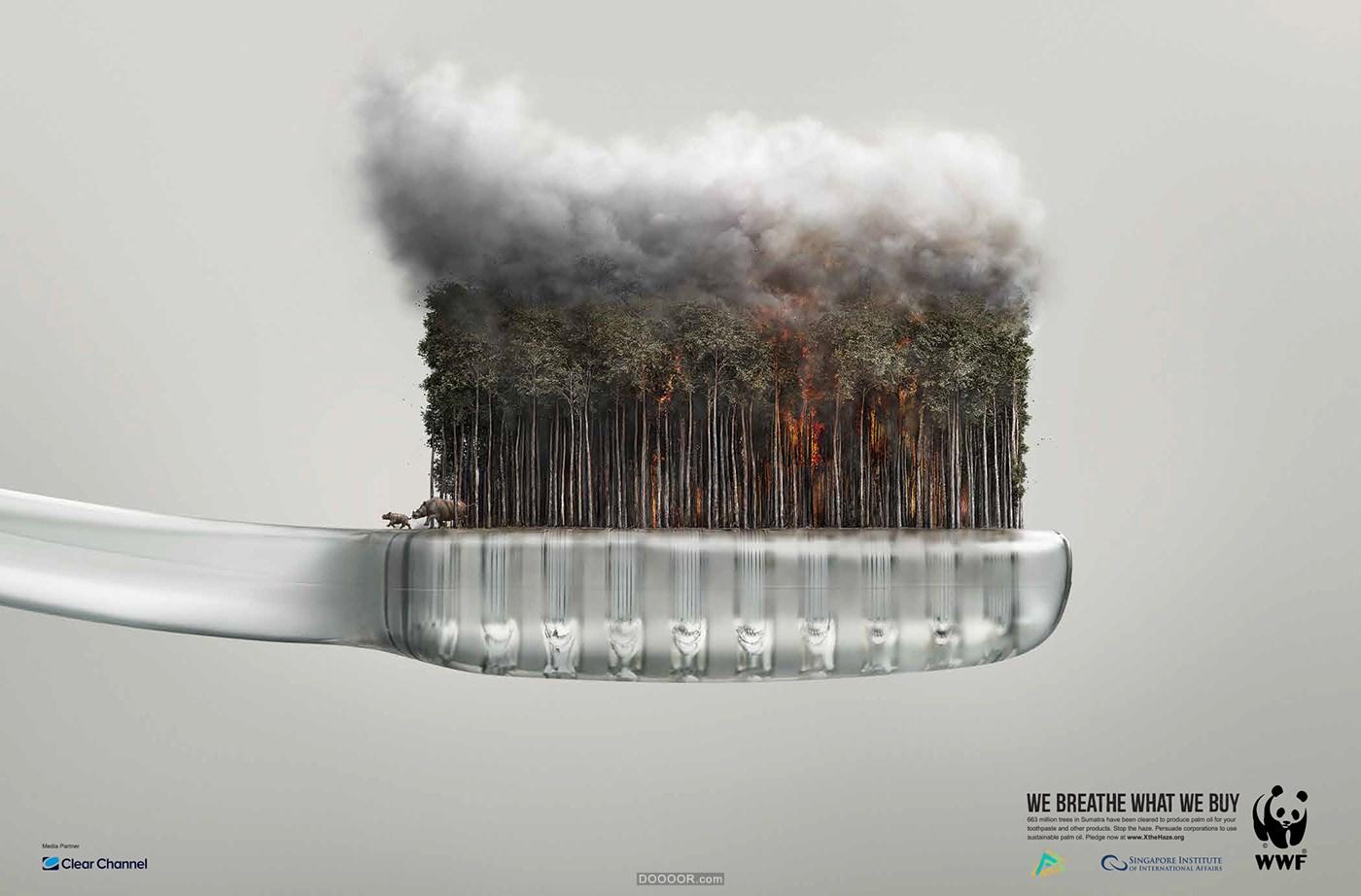 WWF世界自然基金会霾战役&黑暗中