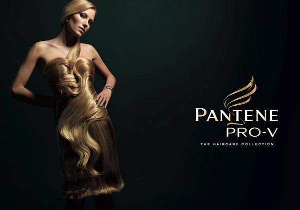 潘婷洗发水广告设计欣赏