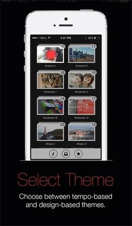 15Seconds照片录像应用引导页设计