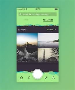 超棒的Material Design UI設計欣賞