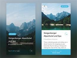 旅游App界面UI設計欣賞
