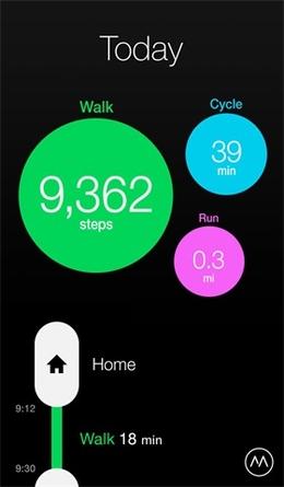 Moves健身应用界面设计