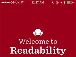 Readability新闻应用引导页设计
