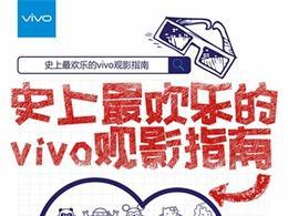 史上最欢乐的观影指南 vivo手机新媒体病毒海报