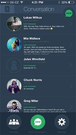 列表页界面设计