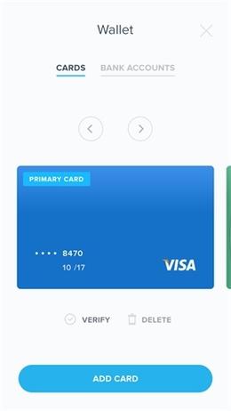 钱包卡片列表页界面设计