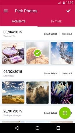 Sharalike Android 列表页界面设计