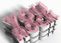 PS三維層狀塊文字設計教程