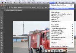PS教程让消防车动感狂奔起来