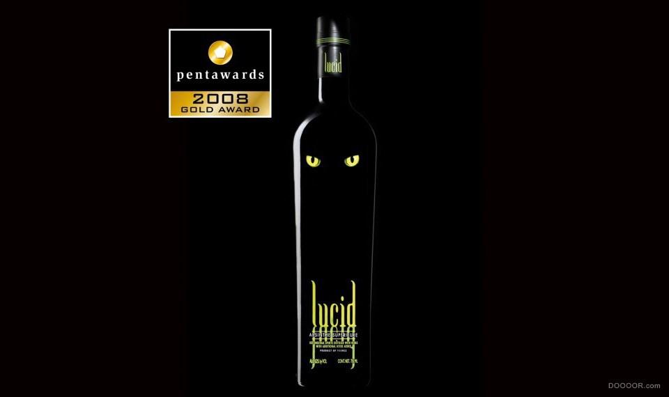 法蘭西LINEA Agency洋酒類超多包裝設計作品