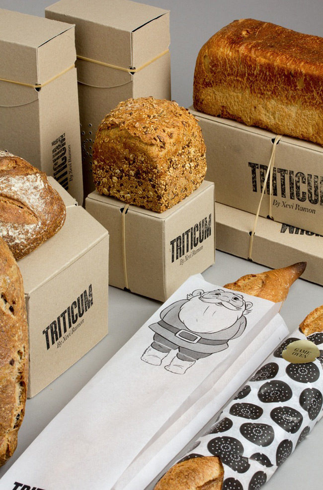 TRITICUM面包看不出设计痕迹的原生态感觉