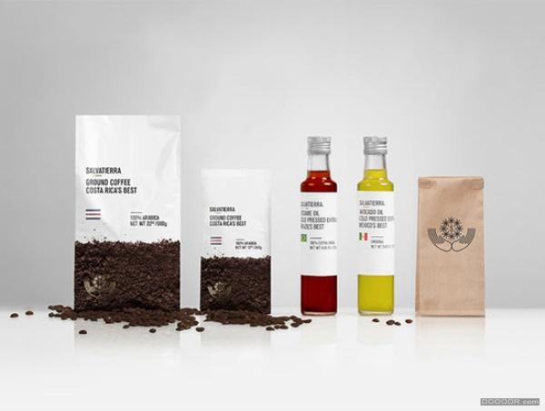 几个不错的咖啡包装设计