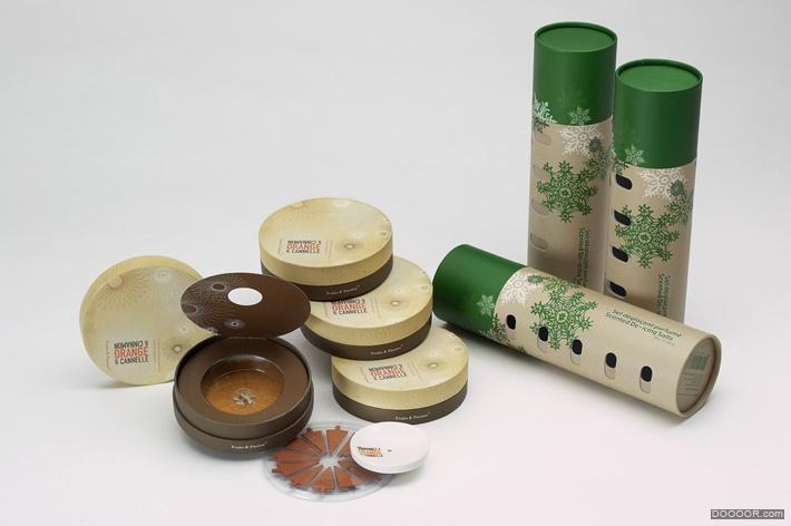 国外兰蔻CK等化妆品香水包装包装设计欣赏-knollpack B