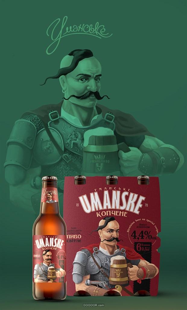 YAROSLAV插画味十足啤酒洋酒包装设计-Yaroslav Shkriblyak