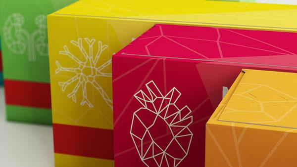 温馨的RPH药品包装包装设计欣赏