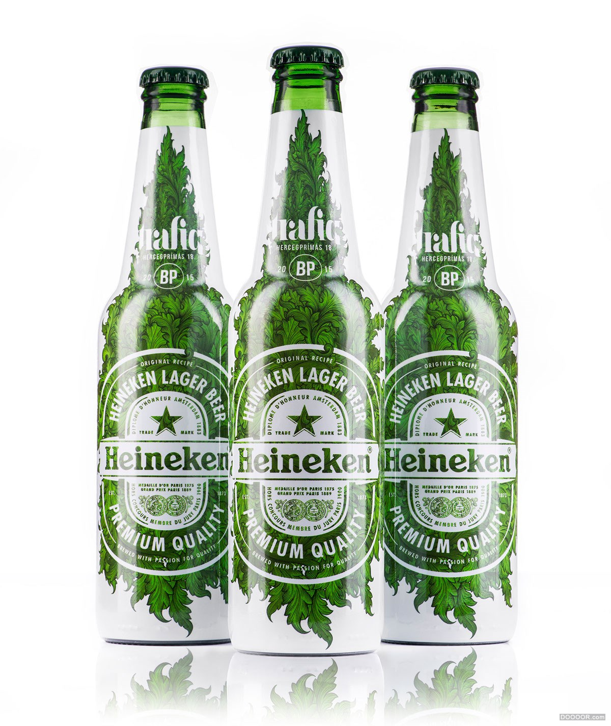 喜力啤酒限量版包装设计