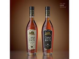 Sumilov多款國外洋酒葡萄酒包裝設計