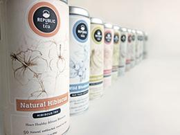 REPUBLIC绘画风格茶叶包装重设计